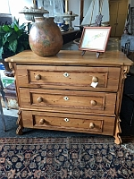 Item # European Pine Chest 19