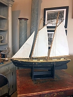 Item # Hand Crafted Sailboat 19