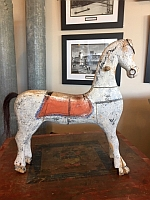 Item # PaintedWoodenHorse19