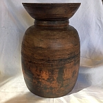 Item # Wooden Lota Vase - 19